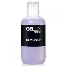 Gellux 250ml UV LED Gel Nail Polish Salon System Profile Gellux Nail Remover