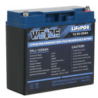 LiFePO4 Deep Cycle Lithium Battery for RV Marine Off-Grid Solar System