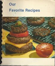 *MANSFIELD OH 1987 ORDER OF THE EASTERN STAR *OES COOK BOOK OUR FAVORITE RECIPES