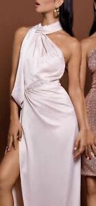 Elle Zeitoune William Champagne Pink  -SHORTEN Size 6 dress (Current) $329