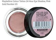 Maybelline Color Tattoo 24hr Gel-cream Eyeshadow 65 Pink Gold