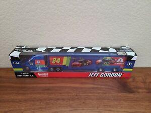 2020 Wave 6 Jeff Gordon Axalta Rainbow iRacing Hauler 1/64 NASCAR Authentics