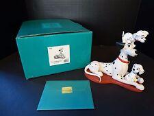 WDCC 101 Dalmatians ~ Pongo with Pups ~ PROUD PONGO ~ MIB & COA