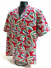 Vintage Hanauma Bay Tiki Aloha Hawaii Hawaiian Shirt Size USA XL
