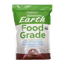 Natural Pest Management Diatomaceous Earth Food Grade 100% 4 lbs 64 oz.