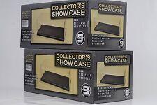 2 x Vitrine/Showcase Acrylique 270 x 125 x 112 mm // Sans Voiture/Personnage 1:24