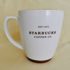 2006 STARBUCKS EST 1971 IVORY BROWN TRIM 18 OUNCES