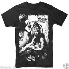 Marilyn Manson Punk Rock band Music T-Shirt Sz.S,M,L,XL