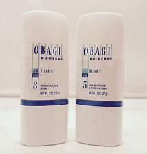 New Obagi Nu Derm Clear Fx 2 oz Blend Fx 2 oz Skin Brightener Great Sealed Kit