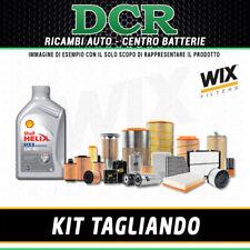 KIT TAGLIANDO KIA CEE'D 1.6 CRDI 90CV 66KW DAL 12/2006 + SHELL HX8 5W40