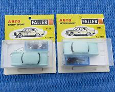 Faller Ams 5155 2 x Fiat 1800 Kit