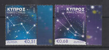CYPRUS MNH STAMP SET 2009 EUROPA  ASTRONOMY CONSTELLATION SG 1188-1189