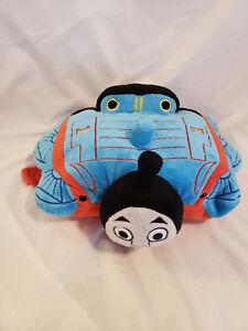 "Pillow Pets Thomas & Friends 2011 Pillow 13"" stuffed Soft Plush Blue"