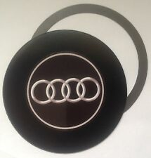 tax disc holder magnetic fits any AUDI car silver