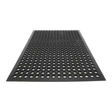 "High Grade Floor Mat Anti Fatigue Kitchen Bar Rubber Drainage Black 35"" x 23"" US"