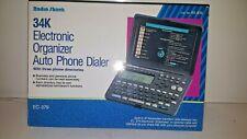 Radio Shack New 34K Electronic Organizer Auto Phone Dialer/Directory Ec-379