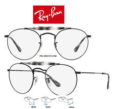 cdc6dfb377 Ray-Ban RB3747V 2760 Eyeglass Frames Black Round Size 50mm (Rx) 100%
