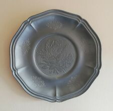 More details for tre-effe originale pewter wall plate.