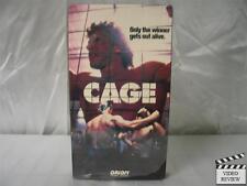 Cage VHS Lou Ferrigno, Reb Brown, James Shigeta