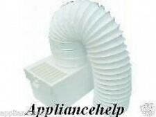 White Knight TUMBLE DRYER INDOOR CONDENSER VENT KIT NEW Includes Hose
