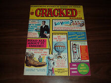 Cracked Magazine-- lot of 10 issues mostly in high grade!