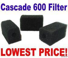 Cascade Bio Sponge 600 Foam Filter Penn Plax - 3 Pack