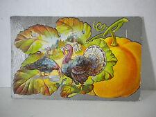 1910 Postcard E Nash PostCard THANKSGIVING Embossed Divided Back Unposted