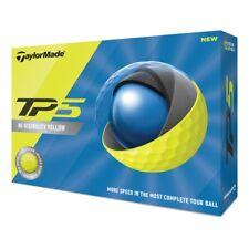 2020 TaylorMade TP5 Golf Balls 1 Dozen Yellow NEW