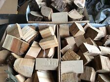 wood smoking chunks,15lbs,BBQ Wood ,smoking Wood,Apple,oak,cherry,alder,freepost