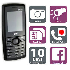 Cheap Mobile Phone - Call Recording - MP3 - Radio - Dual Sim - Unlocked - Black