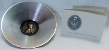 The Florentine Coin Bowl Stainless Steel Engraved General Telephone