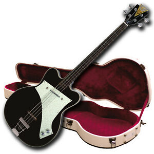 Kay-Limited Edition-K5970VBK Reissue Jazz Special Bass-Black-Free $250 Case!