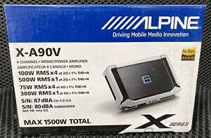 Alpine X series 5 CH Amplifier New HQ 1500W Free World Wide Shipping!