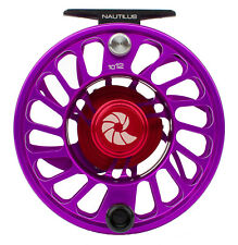 Nautilus CCF-X2 10/12 Fly Fishing Reel - Violet (10-12 WT) NEW  - Free US Ship