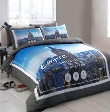 Linge de lit et ensembles blanc avec des motifs Drapeau