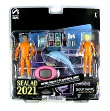 Palisades Toys Cult TV Series ADULT SWIM SEALAB figure set boxed & unopened RARE