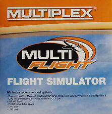 Flugsimulator - Flugsimulations-Software Multiplex Multiflight - PLUS CD 855332