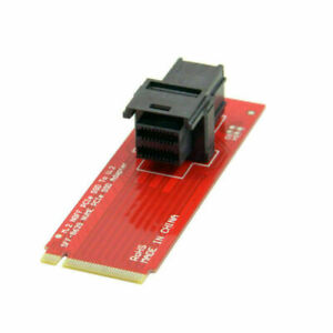 SFF-8639 NVME PCIe  U.2 Kit SSD Adapter for Mainboard Intel SSD 750 p3600 p370