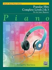 ALFRED'S BASIC PIANO LIBRARY POPULAR HITS COMPLETE LEVELS 2 & 3 - GEROU, TOM (CO