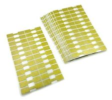 1000 PC Gold Jewelry Sticker Price Tags Square Dumbell Barbell Label Free Ship