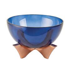 Vassoi e ciotole piatto in vetro per la decorazione della casa