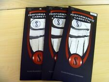 3 BRAND NEW CABRETTA LEATHER GOLF GLOVES MEDIUM LARGE ML MENS LEFT HAND