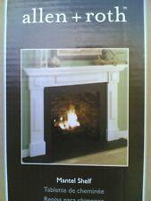 NIB: Elegant White Fireplace 6-ft MANTEL SHELF (Fireplace Surround NOT Included)