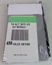 14 2014 Nissan Altima Navigation Owner's Owners Owner Manual Kit Set Case Guide