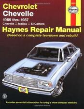 Haynes CHEVROLET EL CAMINO  82-92 Owners Service Repair Workshop Manual Handbook