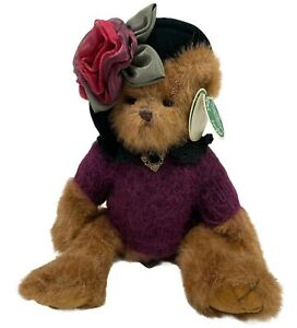 THE BEARINGTON COLLECTION TINA TEABEARY 179828 JOINTED DRESSED BEAR