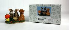 Fitz and Floyd Charming Tails Harvest Time Honeys Item 85/82