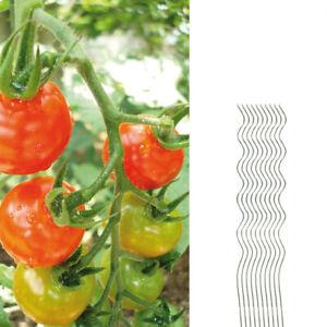 10x Tomatenspiralstab 110cm voll verzinkt Tomatenstab Tomaten Ranke Pflanzstab