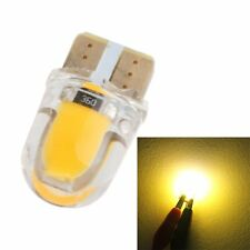 10x Amber Yellow T10 W5W 168 Silica Gel LED Bulbs License Plate Dash Light  12V
