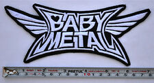 Babymetal Patch Embroidered Medium Size sew on Aufnäher パッチ BABY METAL